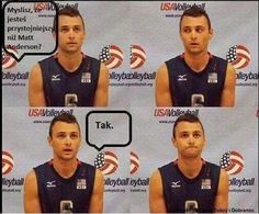 . Matt Anderson, Volleyball, Humor, Funny, Cute, Humour, Kawaii, Funny Photos, Funny Parenting