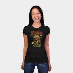 Legend of Zombie womens shirt http://geek.ragebear.com/3mcnt