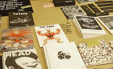 Create and Destroy Press @ 4th Independent Publishers and Zine Fair in Vienna
