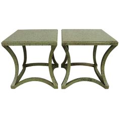 Exceptional Pair of Custom Albert Hadley Tables for Katherine Graham, 1970s   From a unique collection of antique and modern coffee and cocktail tables at https://www.1stdibs.com/furniture/tables/coffee-tables-cocktail-tables/