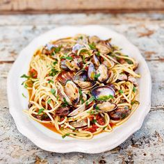 super quick blushing spaghetti vongole an absolute comfort classic much loved by people all around the world!!! Im taking this pasta dish to the next level and breaking some rules. I LOVE it. Recipe on tonights Comfort Food @channel4 8pm and the website.  #ComfortFood