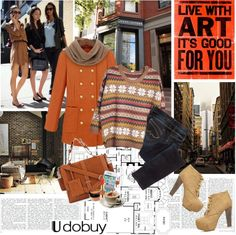 """Winter ready"" by electric-bird ❤ liked on Polyvore"