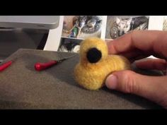 ▶ Animal Felting Tutorial - YouTube