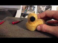 Animal Felting Tutorial - YouTube. Excellent tutorial!