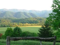 Cades Cove...the home of my heart! I miss those beautiful East Tennessee mountains!