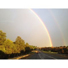 Double rainbow in Wallan