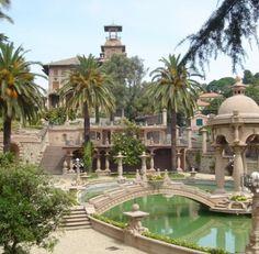 VILLA GROCK in  Imperia, just 24miles from La Meridiana Garlenda. A beautiful place to visit along Italian Riviera