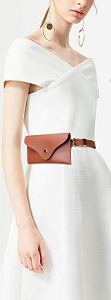 Womens Leather Belt Fanny Pack With Removable Belt Tassel Waist Pouch Fashion Belts, Fashion Brands, Women's Fashion, Waist Pouch, Belt Bags, Belts For Women, Fanny Pack, Tassels, Topshop