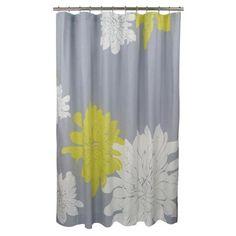 Ashley Shower Curtain in Citron