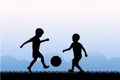 kids playing soccer @creativework247