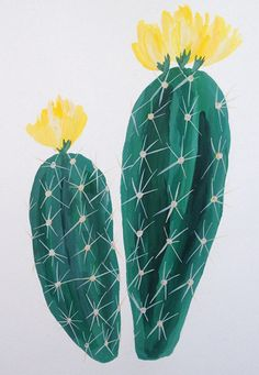 print & pattern blogs : Cacti by Patricia Shen, Our Heiday