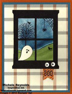 Happy Scenes Haunting Ghost Boo