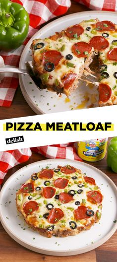 This meatloaf is pizza in comfort food form.