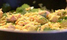 Kedgeree - a very Scottish curry