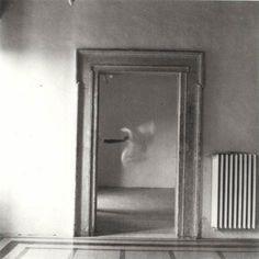 francesca woodman. Angel Series, Roma, September 1977.