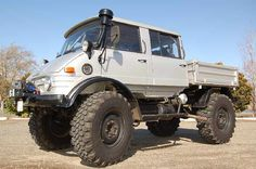 1980 Mercedes-Benz : Unimog 416 Doka