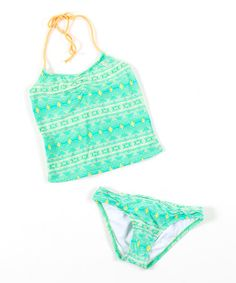 Take a look at this Sea Shimmer Fiji Tankini by O'Neill on #zulily today!