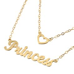 Custom 24k gold plated Layered name necklace, special gift for the one you love