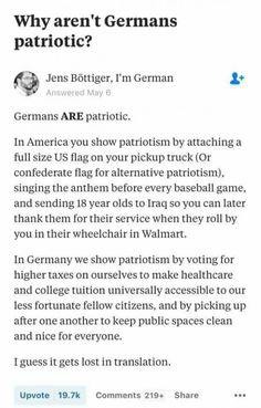 I prefer the German way please!