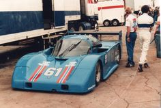 Don Courtney Argo JM16 Buick at Road Atlanta 1984. — with Jose Lopez