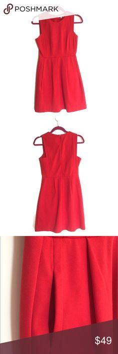 NWOT Madewell shift dress NWOT shift dress. Beautiful orange/red color. Lateral pockets. Never used :) Non smoking home. Madewell Dresses