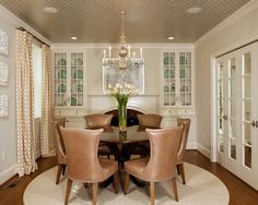 Traditional Dining Room Wallpaper Victorian Design, Pictures, Remodel, Decor and Ideas - page 6