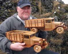 News - Wooden Toy Plans, Patterns, Models and Woodworking Projects from Toys and Joys