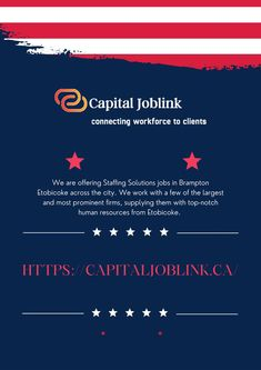 Capital Joblink is best Job Search Website in Etobicoke Canada.It can supply you with a recruiting trip that no one else can. We have the first-rate job search internet site in Etobicoke and full-service personnel recruiting consultants with a huge presence round the city. Job Website, Jobs Hiring, Human Resources, Job Search, Good Job, Internet, Canada, City, Cities
