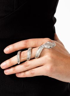 Snake Coil Ring $13.80 for possible slytherin yule ball attire