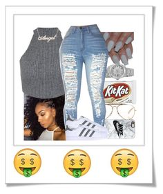 """"""""""" by xtiairax ❤ liked on Polyvore featuring CÉLINE, Casetify, Rolex, Miss Selfridge, adidas Originals and Polaroid"""