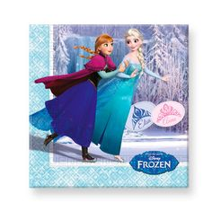 Disney Frozen Servetten stuks Afmeting:33 x 33 cm2-laags - Disney Frozen Servetten 20 stuks