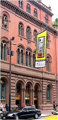 The Public Theater.  Meryl Streep began her professional career here right after graduating from Yale.