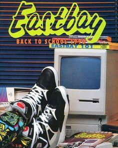 """436b5d904 Ad Recall on Instagram  """"Back when Eastbay was a catalogue and not an online"""