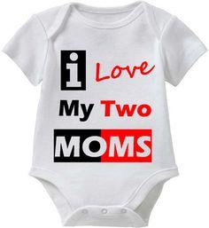 LGBT SHIRT I Love My Two Moms Lgbt Shirt  Christmas by ALLGayTees