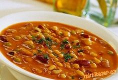 Pork Broccoli and Bean Stew - Recipe Details Chilean Recipes, Cuban Recipes, Greek Recipes, Bean Soup Recipes, Pork Broccoli, Tuscan Bean Soup, Greek Cooking, Vegetarian, Gastronomia