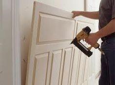 Wainscoting DIY - buy pre-made wainscot...nail to wall...paint