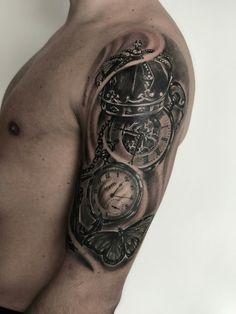 Tower tatoo by junior tatoo Cuba