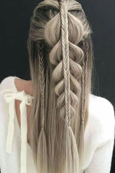 Hi Everyone  Today s tutorial is how to do a Dutch Infinity braid on     23 Hot   Attractive Hairstyle Ideas For Long Hair You Must Try
