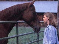 Scarlett Johansson - Horse Whisperer Credit: Touchstone Pictures 1998