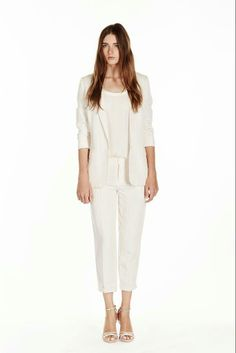 SPRING 2015 - Style.com: Joie (Look 1).
