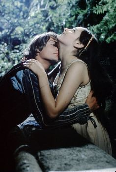 #ADVOCATE1612 Leonard Whiting and Olivia Hussey in 'Romeo and Juliet', 1968.