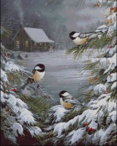 Buy Winter Bird - Birds Paint By Number kit or check our new modern collections for adults paint by numbers. Relax and enjoy your canvas painting Christmas Bird, Christmas Pictures, Vintage Christmas, Merry Christmas, Christmas 2019, Winter Christmas Scenes, Christmas Desktop, Cabin Christmas, Winter Szenen
