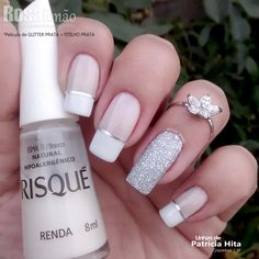 70 Eye-Catching and Fashion Acrylic Nails, Matte Nails, Glitter Nails Design You Should Try in Prom and Wedding that can help you out. We hope you like this collection. Cute Acrylic Nails, Glitter Nails, Cute Nails, Pretty Nails, Diy Beauty Nails, Diy Nails, Manicure, Diy Nail Designs, Diy Design
