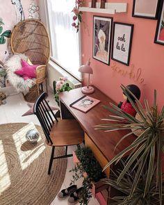 Przytulne wnętrze z intensywnymi akcentami Diy Living Room Decor, Teen Room Decor, Bedroom Decor, Home Decor, Awesome Bedrooms, Diy Pillows, Diy Design, Design Ideas, Modern Decor