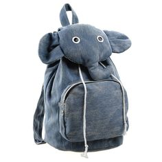 Elephant Canvas Backpack on Luulla....I need a backpack for senior year.....? :D