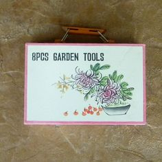 Childs 8 Piece Garden Tool Set