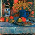 Алексей фон Явленский «Натюрморт с цветами и фруктами»
