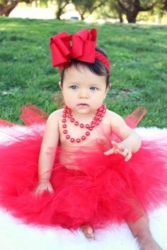 Red Baby Tutu Set,Newborn Red Tutus,Holiday Infant Tutu,Girls Christmas Red Tutu and Headband,Red Tulle Skirt for Babies and Toddler Girls Baby Girl Photos, Cute Baby Pictures, Girl Pictures, Newborn Tutu, Baby Tutu, Baby Girl Halloween Outfit, Red Tutu, Valentines Day Baby, Baby Hair Bows