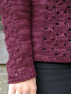 Ravelry: Sangria pattern by Alison Green