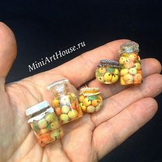#miniature #miniaturefood #polimerclay #polimerclayfood #handmade #apple #jars #dollhouseminiatures #apples #glass #кукольнаяминиатюра #полимернаяглина #яблоки #банки #стекло #баночка #компот #ручнаяработа #миниартхаус #